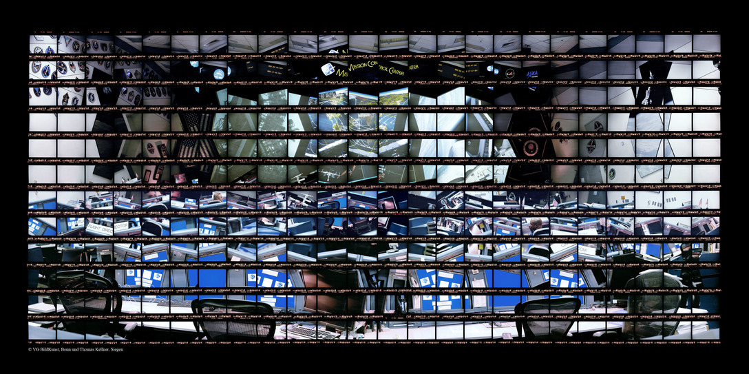 69#05, Mission Control, Shuttle Flight Control Room, 2010, C-Print, 41,6 x 90,5 cm,	edition	12+3