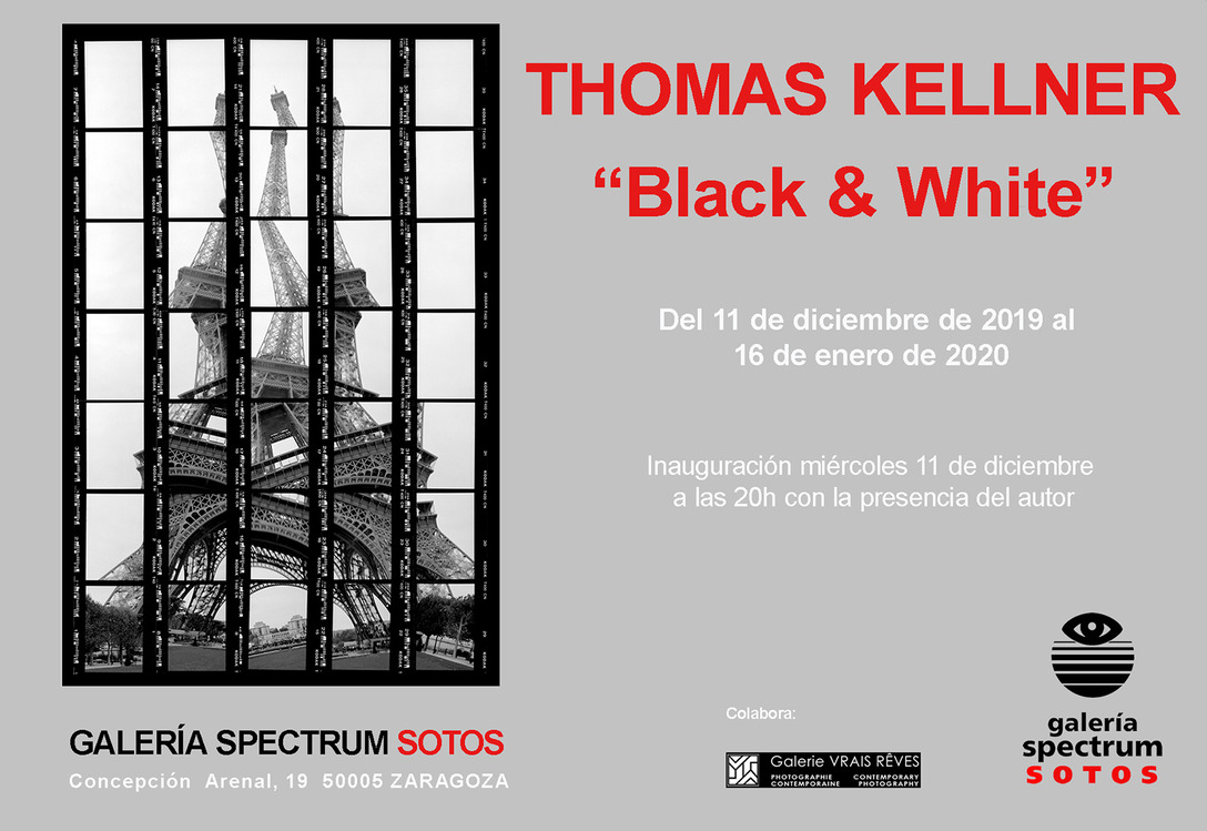 Thomas Kellner – Black & White at Spectrum Sotos