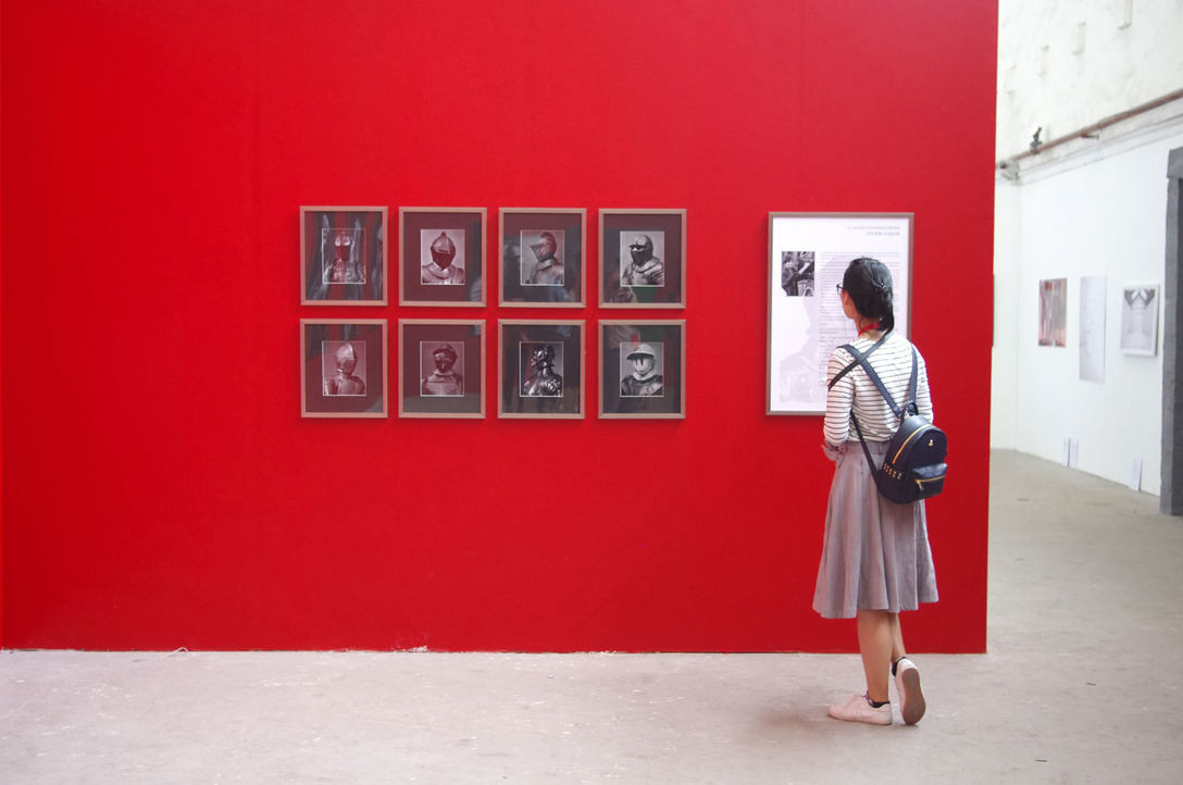 "Installation of the exhibiton ""Claudia Faehrenkemper: Amor"", Pingyao International Photography Festival, Pingyao, Peoples Republic of China"