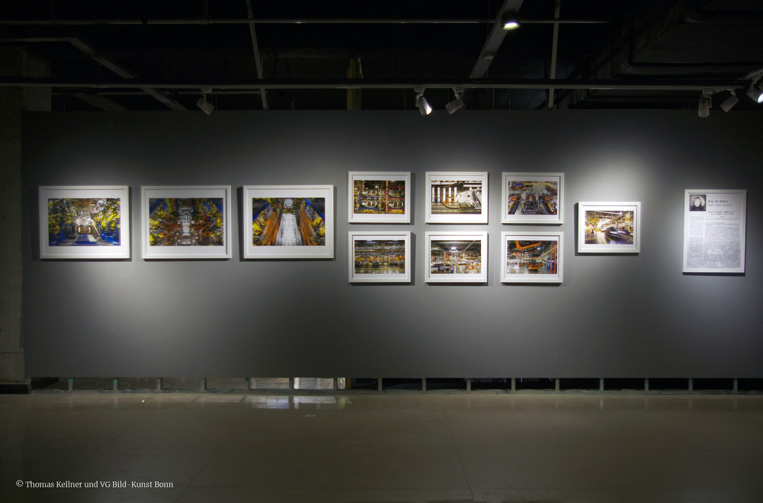Sara Jane Boyers (USA) at the exhibition Transition, Third Term International Photography Festival Liaoning in Beizhen, curated by Thomas Kellner