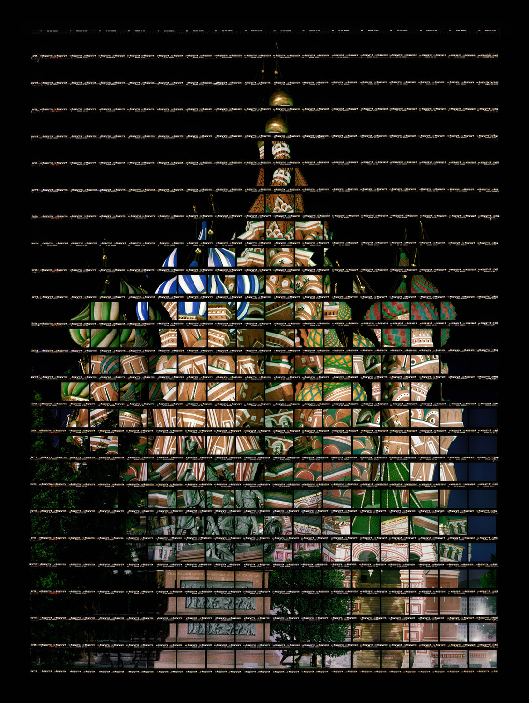 87#04 Moscow, Basilius Cathedral (night), 2014, C-Print, 61 x 83,7 cm, edition 12+3, starting at 2690 Euros / 2990 USD
