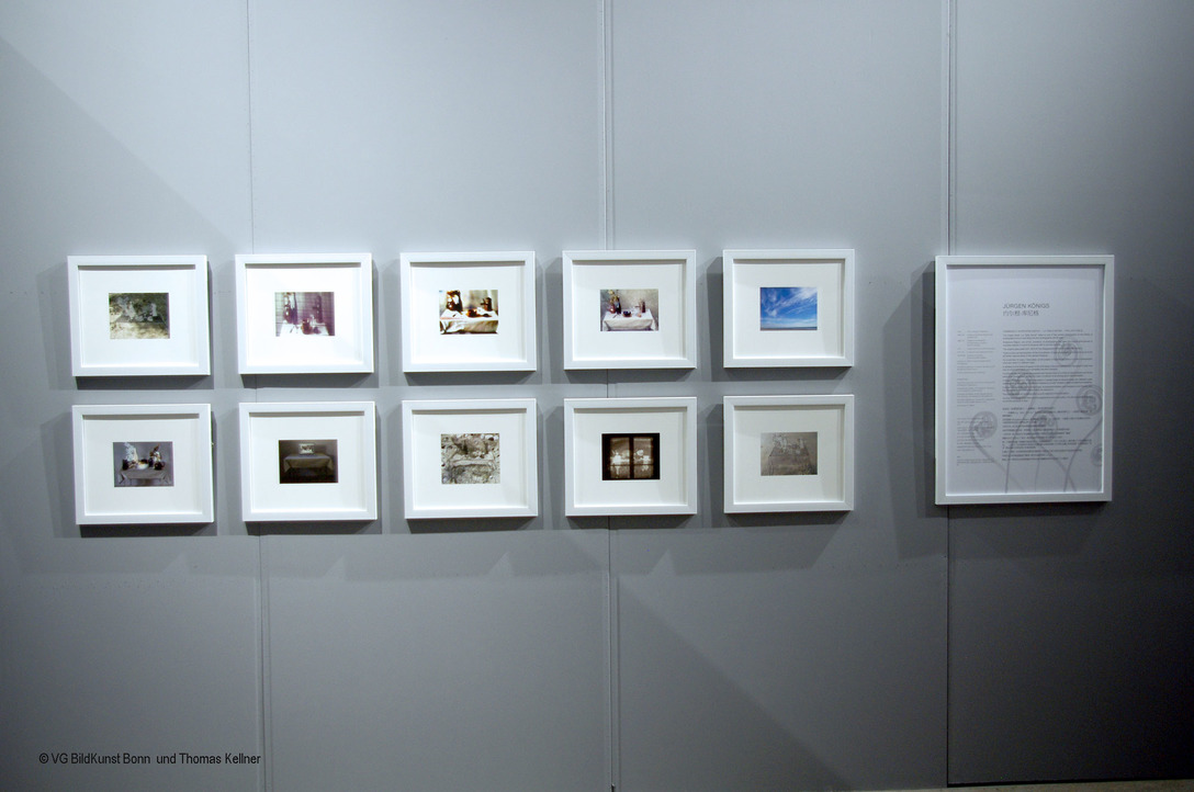 "Installation of the exhibition ""Photo Trouvée"" at the Pingyao International Photography Festival"