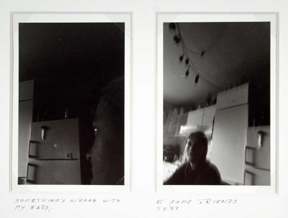 Thomas Kellner: something's wrong with my ears, 1997, 004, pseudo stereo photographs