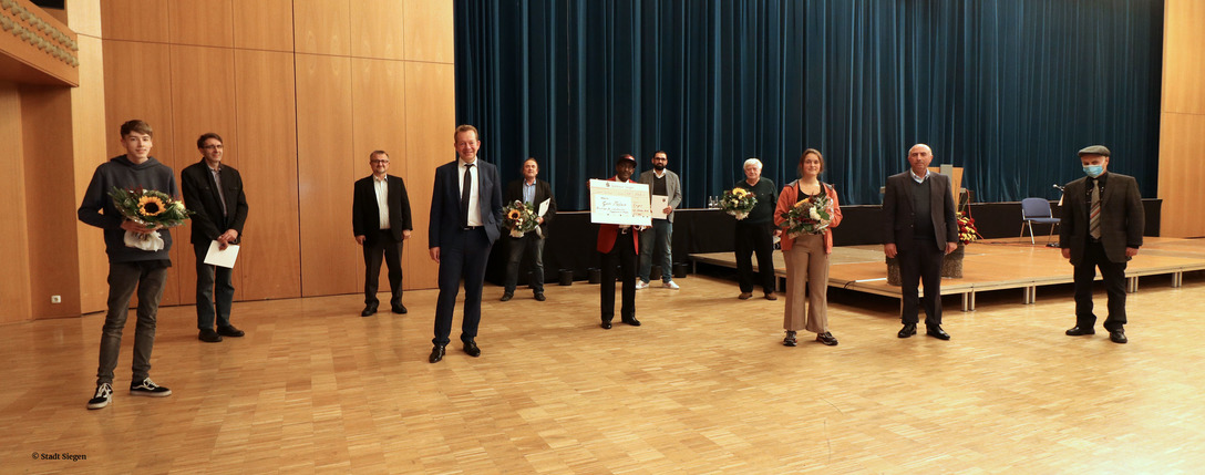 All Nominated for the integration prize of the city of Siegen