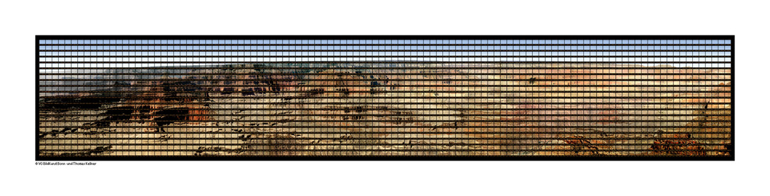 Thomas Kellner: Grand Canyon, 2014, C-Print, 416 cm x 75 cm / 164'' x 30''