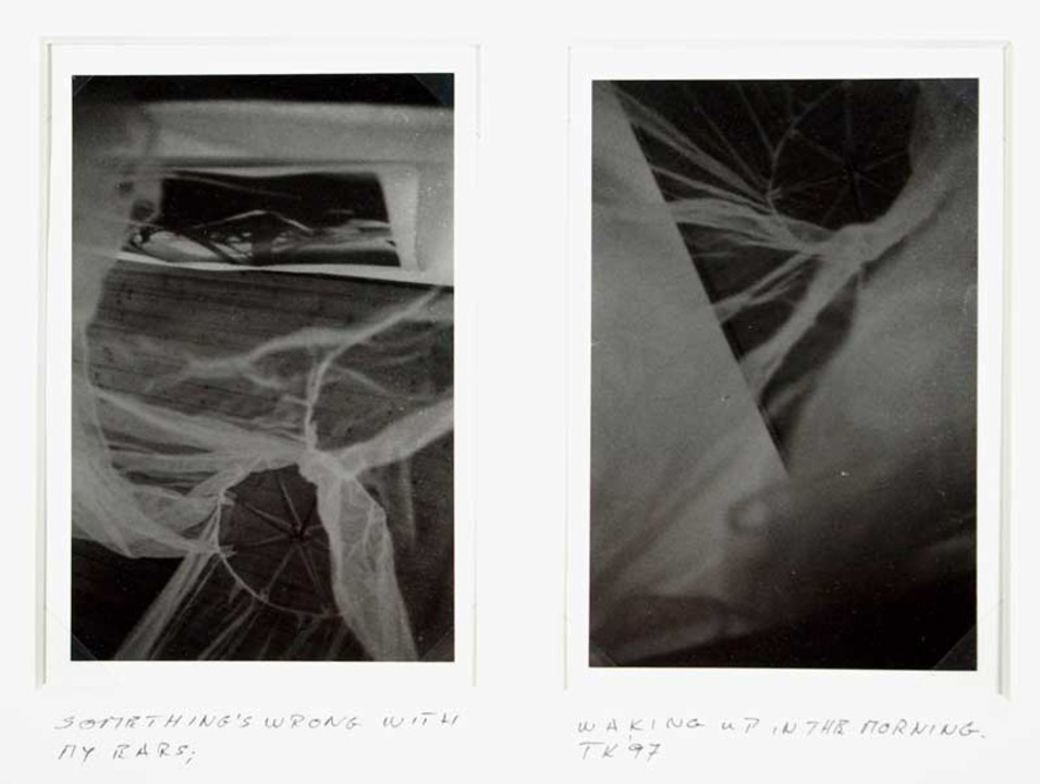 Thomas Kellner: something's wrong with my ears, 1997, 005, pseudo stereo photographs