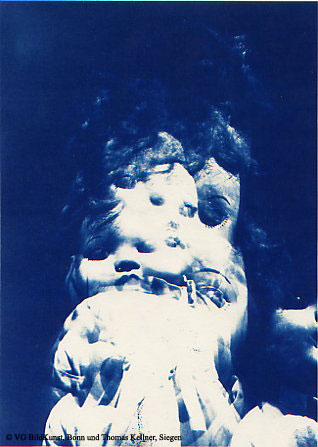 "Thomas Kellner: Lost Memories No. 3, 1997, Cyanotype, 16,4x23,5 cm/6,4""x9,2"", edition 10+3"