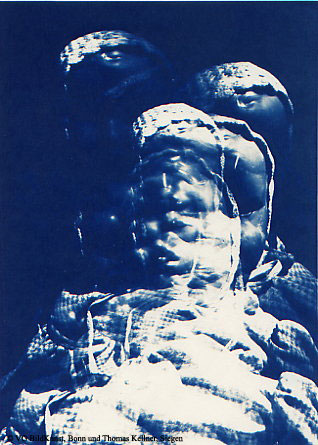 "Thomas Kellner: Lost Memories No. 5, 1997, Cyanotype, 16,4x23,5 cm/6,4""x9,2"", edition 10+3"