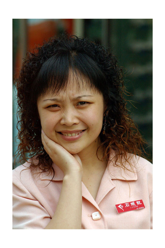 Xiang Dongmei, Shop assistant, 30 years old