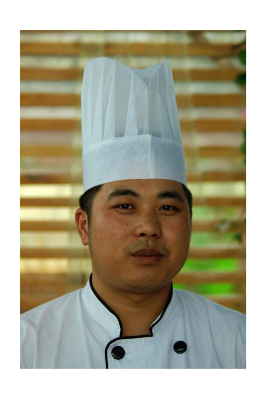 "Zhang Dong, Chef of ""My coffee shop"" , 28 years old"